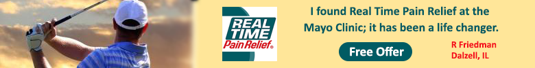 real time pain relief banner from askmikemartin.com