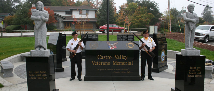 Castro Valley Veterans' Memorial (CVVM)